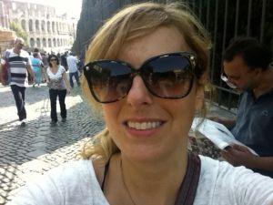 Kristin in Rome